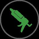 Air Sealing Icon